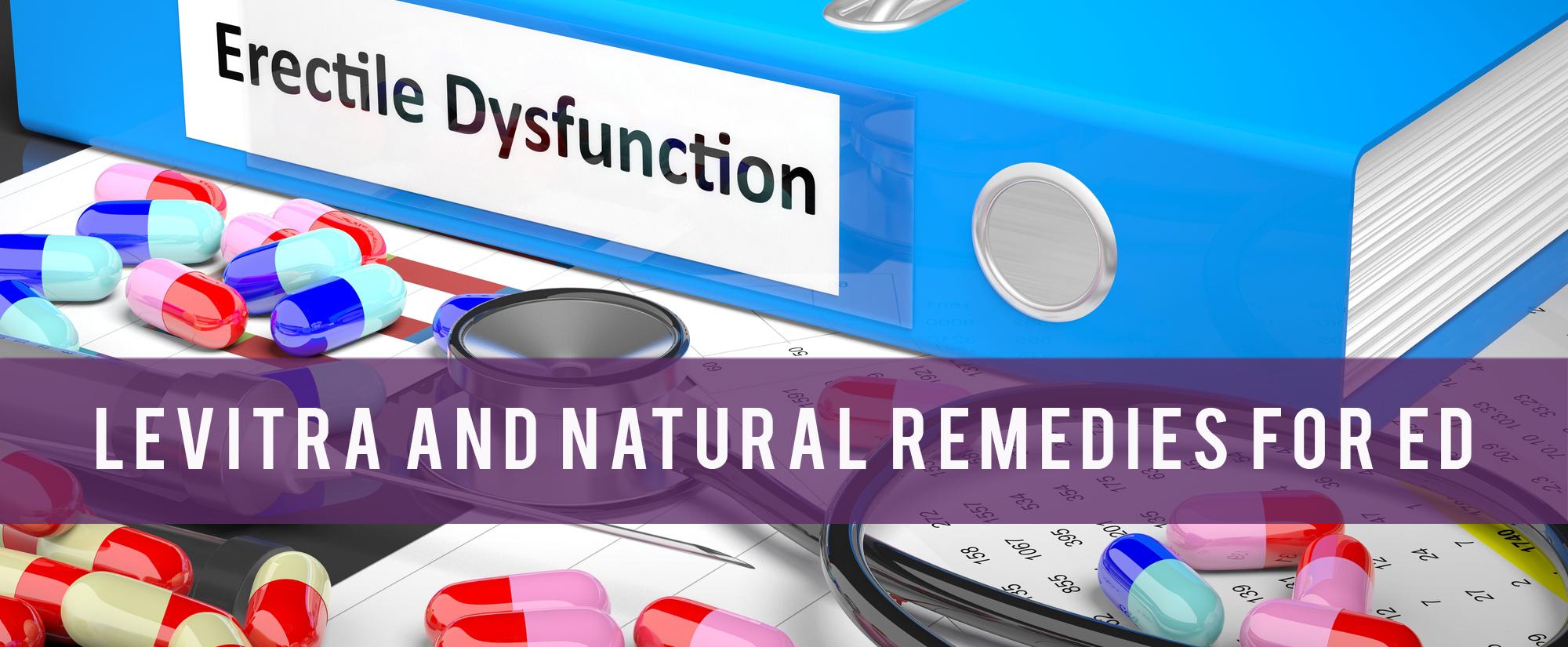 Levitra and natural remedies